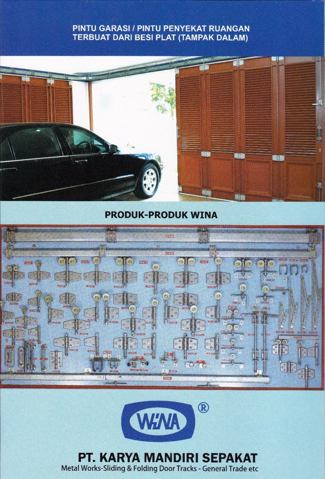 Rel dan Komponen Pintu Garasi